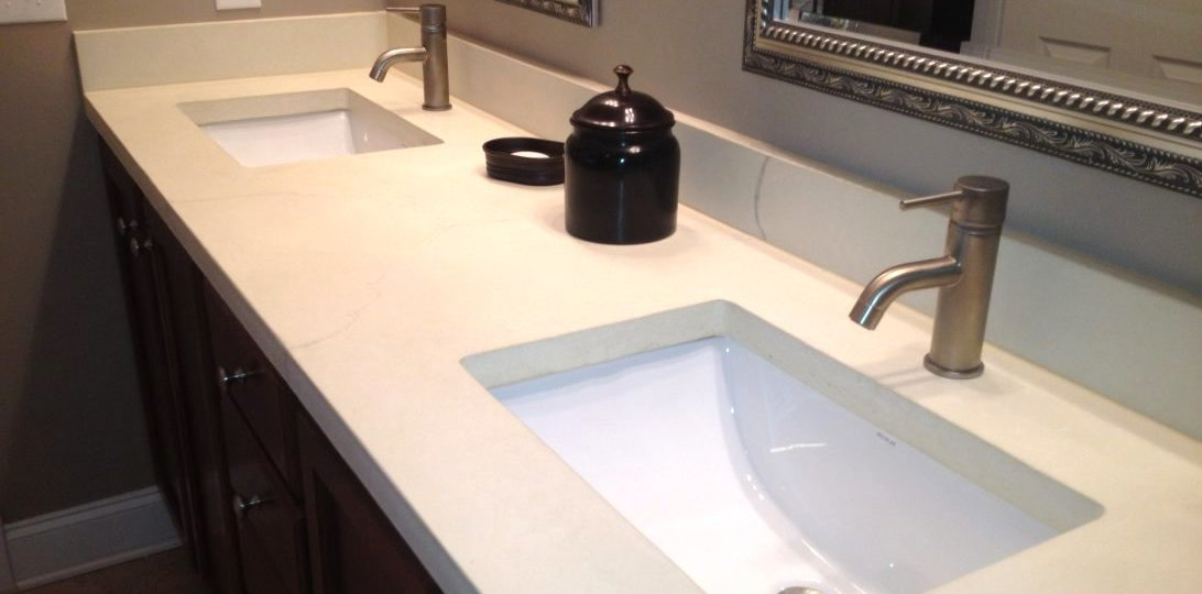 Bathroom Countertop Materials | Marble Tradition Pros And Cons Of Different Bathroom Countertop